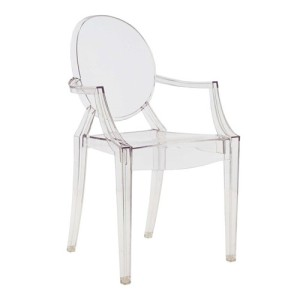 Silla Ghost Philippe Starck para Kartell