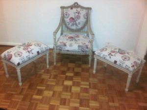 sillones antiguos estilo maria antonieta